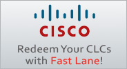 Redeem your Cisco Learning Credits with Fast Lane