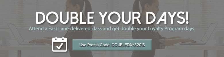 Double Days Promotion