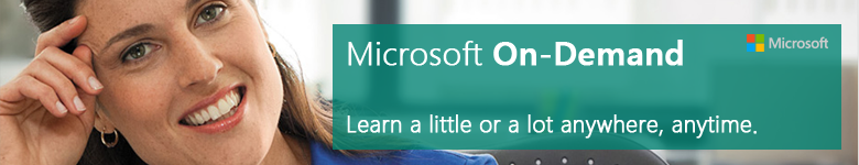 Microsoft On Demand Training