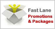 Fast Lane packages promotions